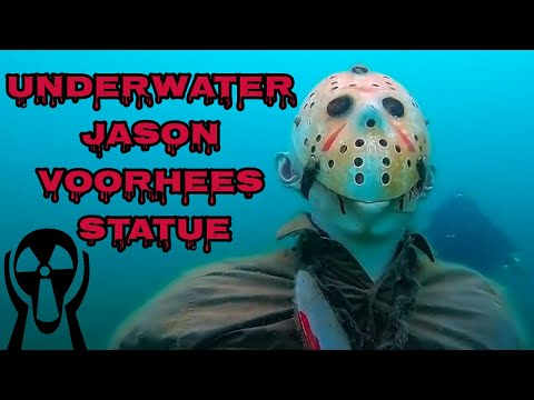 Underwater Jason Voorhees Statue