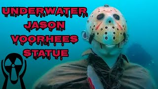 Divers find a Jason Voorhees Statue in an Arizona Lake
