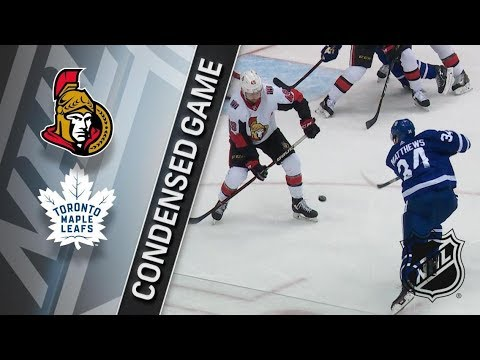 Ottawa Senators vs Toronto Maple Leafs – Feb. 10, 2018 | Game Highlights | NHL 2017/18. Обзор
