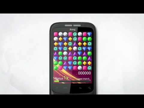HTC Wildfire Sizzle with music