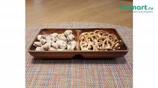 Покупки для кухни | Сервировка стола: обзор Менажница Evelin Tokyo Small 10194 M | fismart.ru