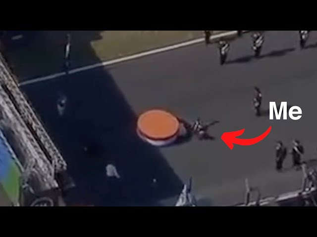 I fell off the stage | BTS F1 Heineken Dutch Grand Prix 2021