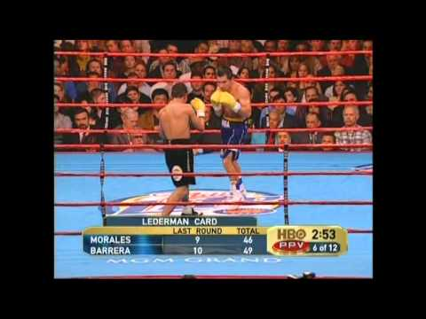 Marco Antonio Barrera vs Eric Morales 3 HD
