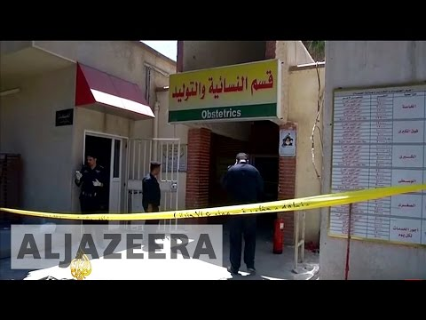 Premature babies killed in Baghdad hospital fire