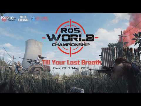 【RoS World Championship】The Final: Asia Server part 2