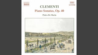 Piano Sonata In D Major, Op. 40, No. 3: II. Adagio con molta espressione