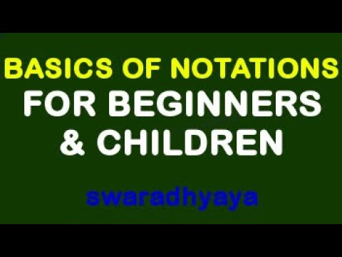 Basics of Notation for beginners - Part 1 By Keyboard Teacher Delhi (India)