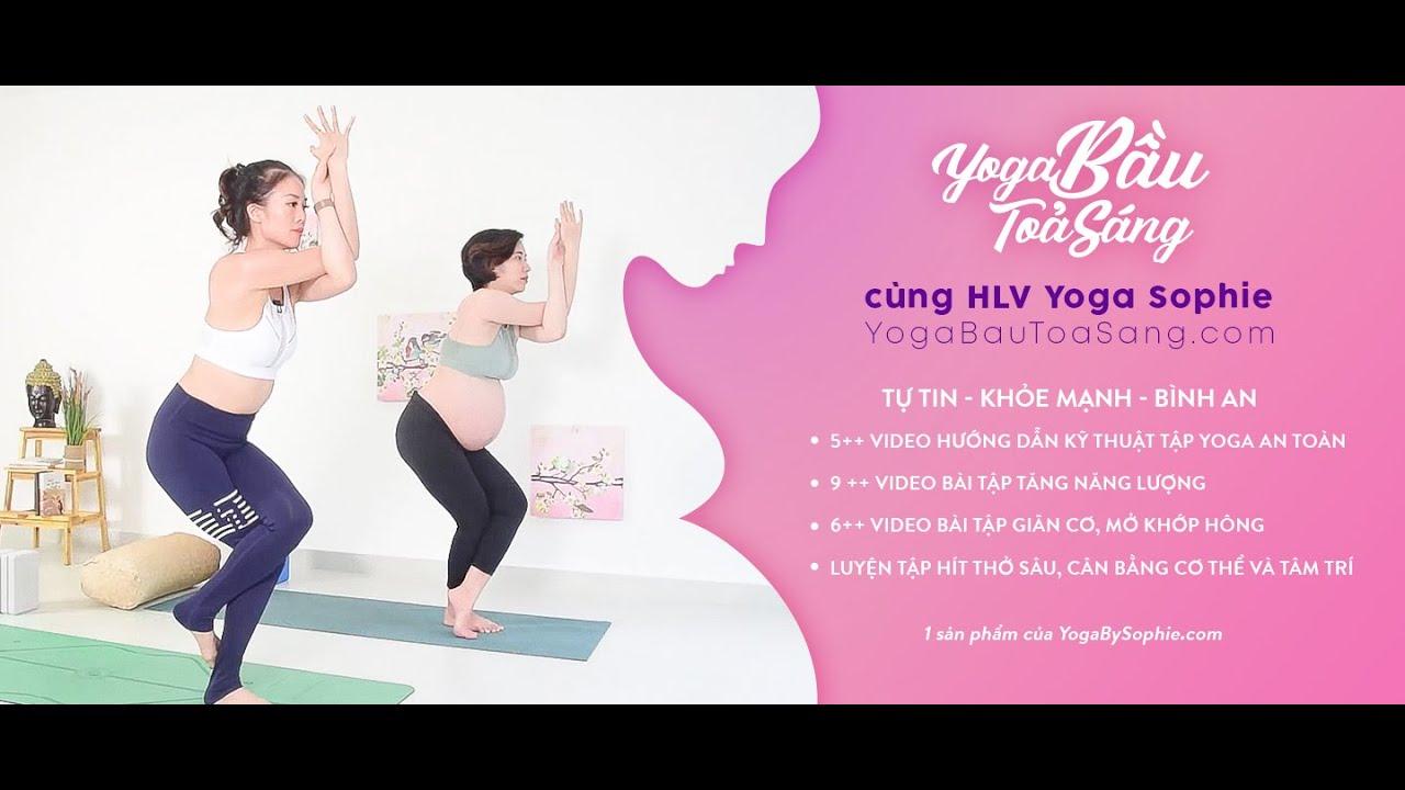 Yoga BẦU TỎA SÁNG ♡ Trailer Khóa học ♡  Yoga By Sophie