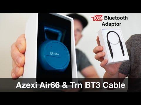 KZ / TRN Bluetooth Adaptor & Air66 Truewireless