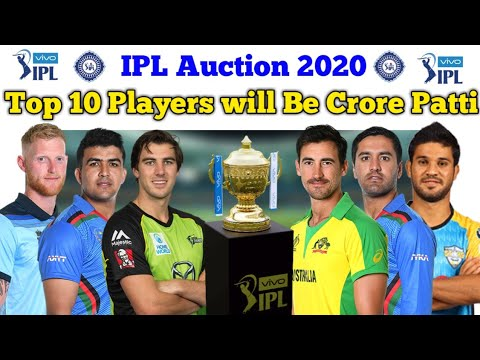 Fair Play Award 2020 Ipl.Ipl 2020 List Of Top 10 Players Who Will Be Crore Patti In Ipl Auction 2020