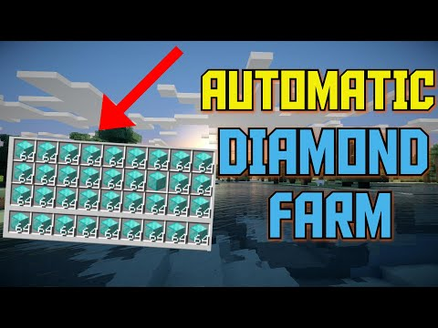 Minecraft 1.16 - AUTOMATIC DIAMOND FARM Tutorial (JAVA / BEDROCK / XBOX / WINDOWS)