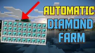 Minecraft 1.16 - AUTOMATIC DIAMOND FARM Tutorial (PC / XBOX / WINDOWS / PS4 / MCPE)
