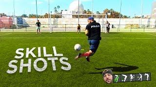 FILIGRANAS!!! ¡RETO FÚTBOL! SKILL SHOT CHALLENGE