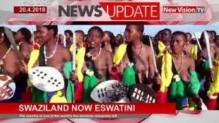 Swaziland now Eswatini