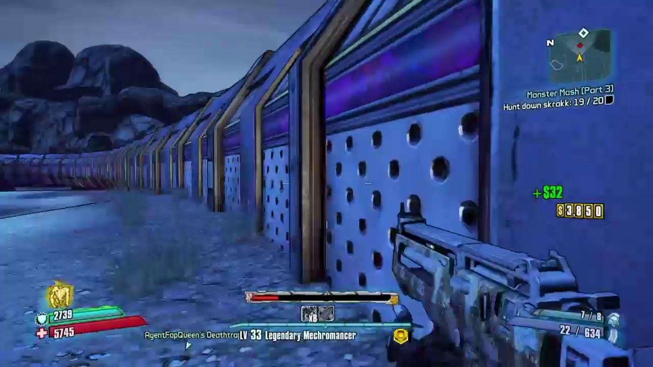 Borderlands 2: Ultraviolent Legendary Mecromancer