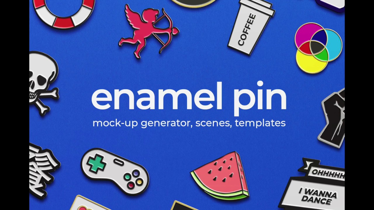 Tutorial: How to create Enamel Pin Mockup in Photoshop