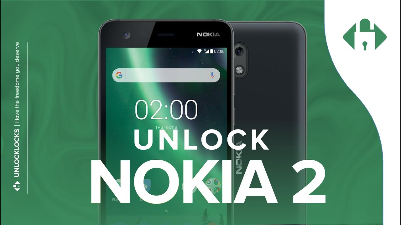 How To Unlock Nokia 2 & 2V by Unlock Code