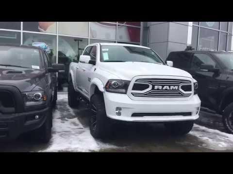 Crosstown Customs White Lightning 2018 Ram 1500 Sport