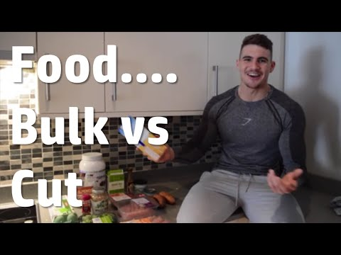 Food... Bulk vs Cut