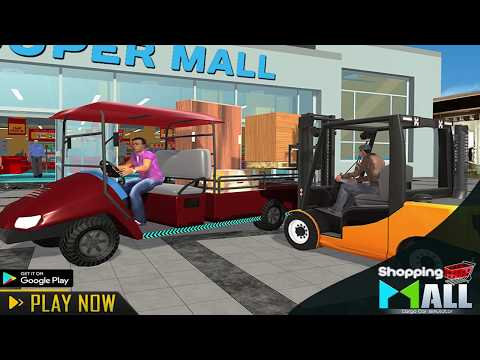 Shopping Mall car simulator cargo transport games - Apps on
