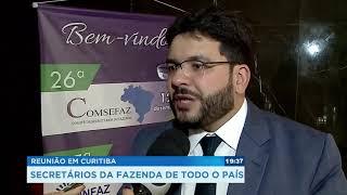 Reunião em Curitiba: secretários da Fazenda de todo o país thumbnail