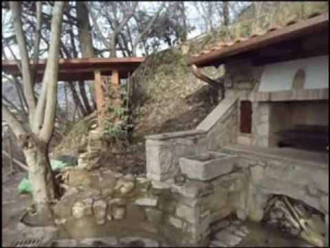 Forno a legna in pietra e legno youtube for Sportello per forno a legna