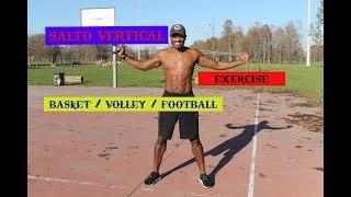 salto verticale esercizi per migliorare. basket pallavolo  calcio