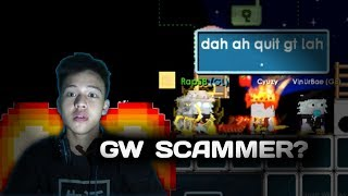 SCAM PRANK ITEM SULTAN TEMEN GW ( GONE WRONG?! ) | Growtopia