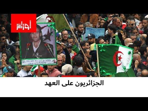 لم يخيّبوا الآمال.. الجزائريون بمئات الآلاف خلال الجمعة الـ20 من الحراك