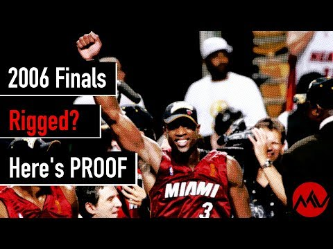 Proof the 2006 NBA Finals was RIGGED