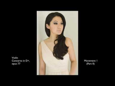 Sarah Chang: Brahms Violin Concerto in D+, Op. 77