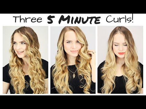 three-*5-minute*-curls!