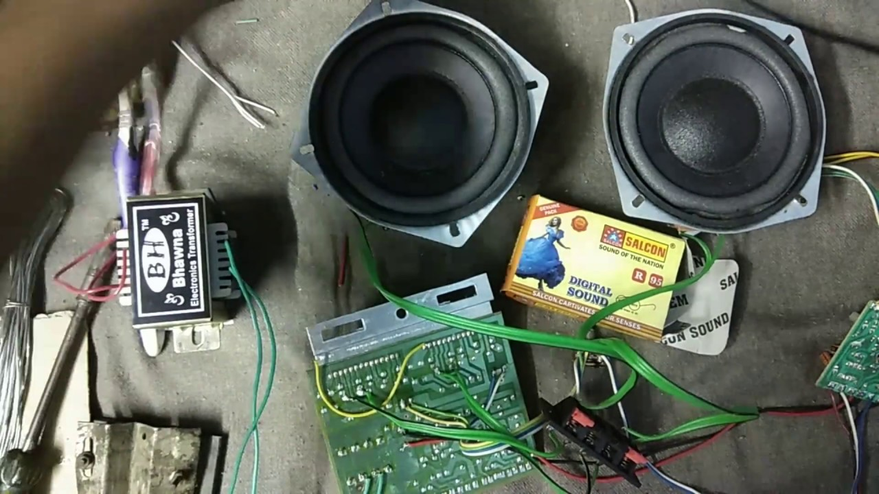 Extra Bass Treble In 4440 Ic Make Buster Home Made 40 Watt Fm Pcb Circuit Boardpcb Board Assemblycar Radio Usb Am Hindi V P L Electronics
