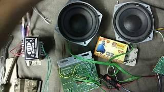 extra bass treble in 4440 ic make bass buster (home made ) 40 watt  in hindi