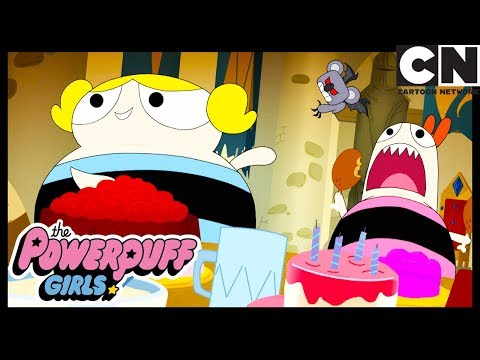 Powerpuff Girls | How Did Bubbles And Blossom Get SO Fat?! | Cartoon Network