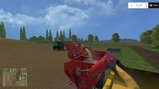 Farm Sim Saturday....Filling the trailer train to 1 million tons part 2