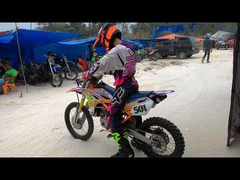 Test Motor Grasstrack Pasir pangaraian Surya Motor Racing Team-2015