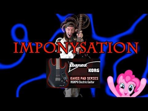 "♞♞♞ Kermheat ""Imponysation of the week"" January 19, 2015 Feat: Ibanez RGKP6, Kaoss pad,12th Planet"
