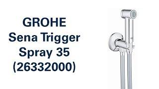 душевая система Grohe Sena Trigger Spray 26332000