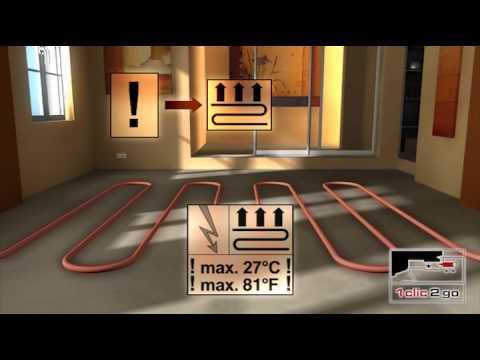 klick laminat verlegen anleitung zur laminatboden verlegung youtube. Black Bedroom Furniture Sets. Home Design Ideas