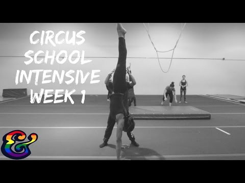 Aerial Circus Training Intensive Workshop at Toronto School of Circus Arts (Week 1)