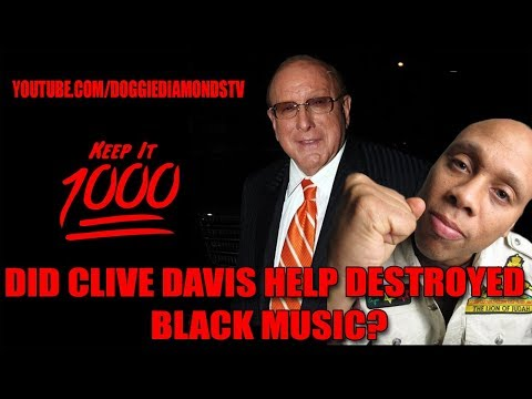 Did Clive Davis Help Destroy Black Music? | Keep It 1000 Ft. Hakim Green