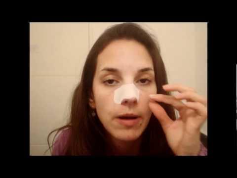 Colocar micropore nariz la como cinta en