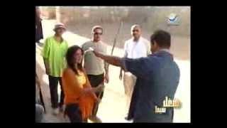 مواقف كوميدية من ميكنج فيلم أبوعلي (10)