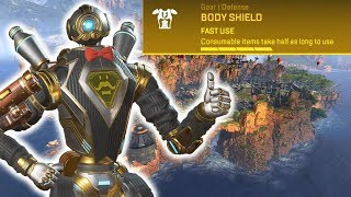 The Golden Bodyshield 2.0 in Kings Canyon is OP in Apex Legends