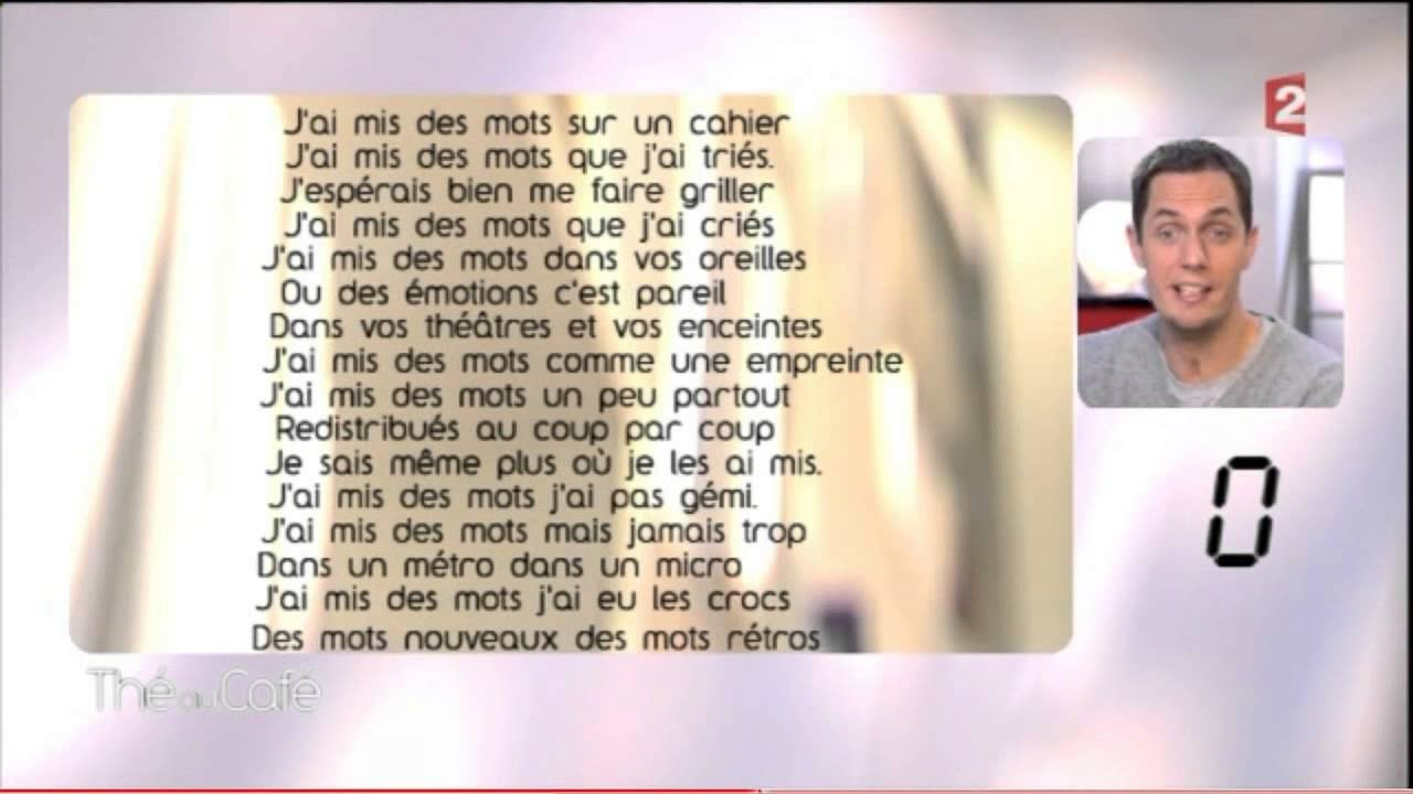 Rencontres grand corps malade don slam paroles