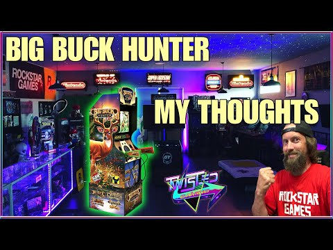 Arcade1up Big Buck Hunter! Great if you can mod it! My thoughts. from TwistedGamingTV