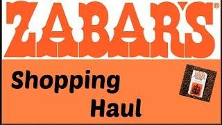 Zabar's New York Shopping Haul