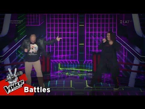 Παναγιώτης Παπαγεωργίου vs Στέλιος Καρπαθάκης - Another one Bites the Dust | 6o Battle | The Voice