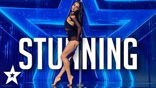 Baixar SEXY POLE DANCER Stuns Judges on Romania's Got Talent 2020 | Got Talent Global